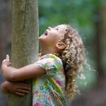 bosque y niños